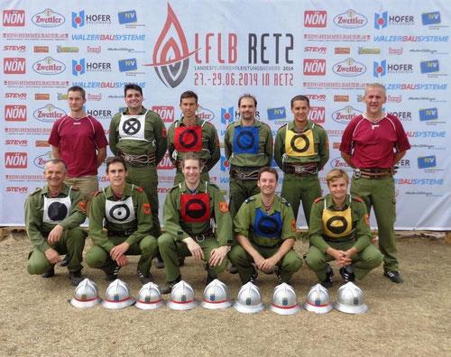 Zwingendorf 1 - Bronze A, 2. Platz beim 64. NÖ LFLB 2014 in Retz