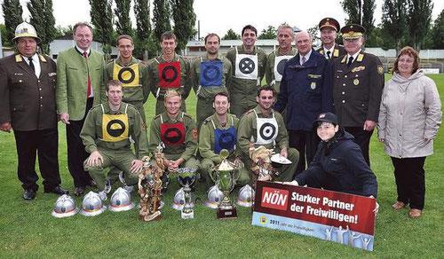 Zwingendorf 1 - Landessieger (Silber A) u. Vize-Landessieger (Bronze A) NÖ-LFLB in Krems 2011