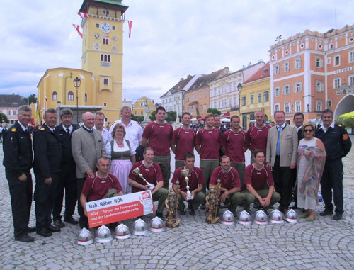 Wettkampfgruppe Zwingendorf 1 - Doppel-Vize-Landessieger beim 64. LFLB 2014 in Retz