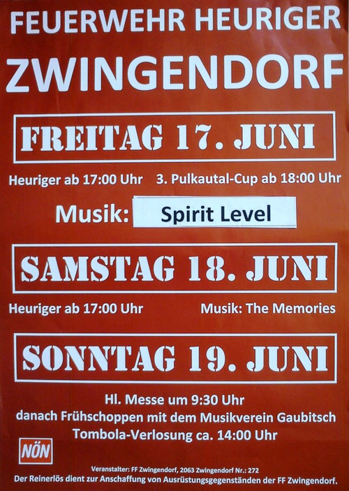 Plakat FF-Heuriger 2011