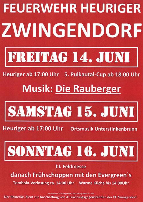 FF-Heuriger in Zwingendorf 2013