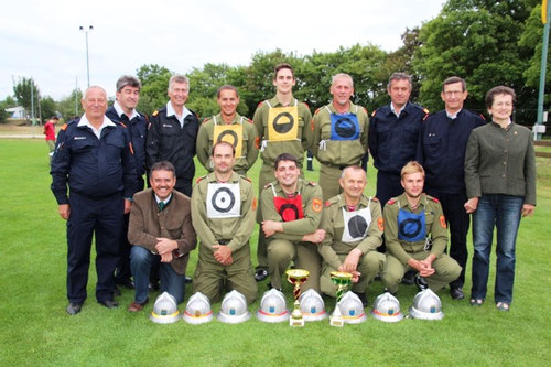 Sieger Silber A - Wettkampfgruppe Zwingendorf 1
