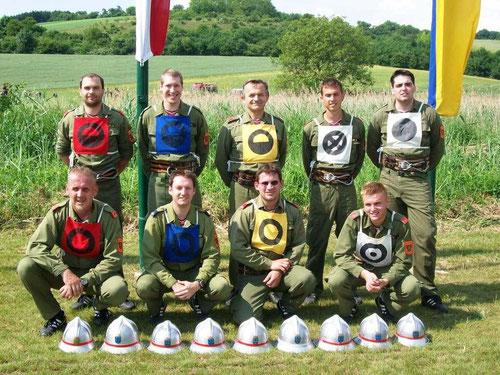 Sieger in der Klasse Silber A Abschnittsfeuerwehrleistungsbewerb in Gnadendorf (eigener Abschnitt Laa/Thaya)