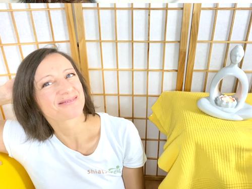 Katharina Grotte spricht von ihren Projekten