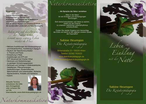 Sabine Heumann • Kräuterpädagogin