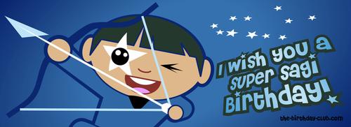 I wish you a super sagi birthday!