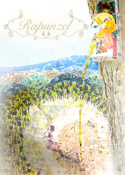 Rapunzel/マスキングテープ PhotoshopCS6 2014,6.19