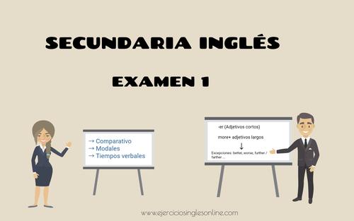 Examen 1 - secundaria inglés
