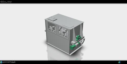 3D ribbon mixer リボンミキサー