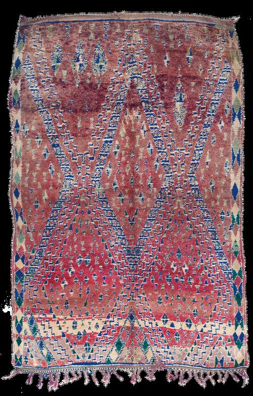 Teppich. Zürich. Schweiz. Vintage berber rug. Handgeknüpfter Berber Teppich. Boujad. Kilimmesoftly.ch. Marlyse Flueckiger