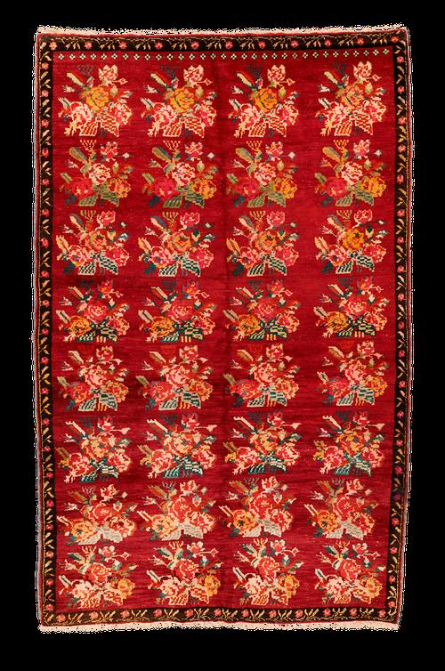 Teppich. Zürich. Semi-antique Karabagh Rug. Handgeknüpfter Teppich.