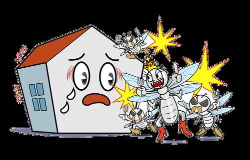 あなたのお家がシロアリの巣にならないためにまずは予防から!!