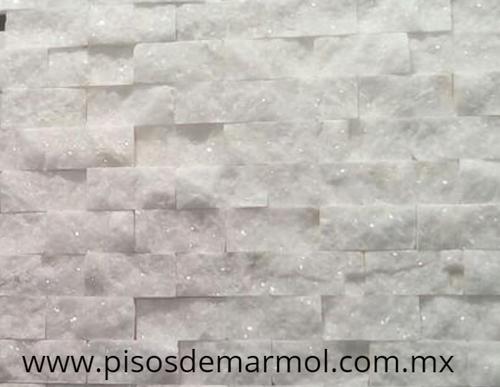 marmol blanco mosaico; mosaico marmol blanco; split face; mosaicos de marmol; marmol blanco mosaico