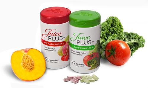 zu meiner persönlichen Juice PLUS+® Website