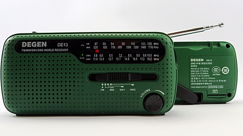 Notfallradio Kurbelradio