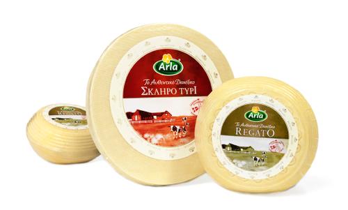 Arla - Käse - Griechenland -  Hartkäse  - Packaging - Design - 2009 - Verpackung