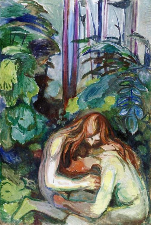 Mujer vampiro en el bosque 1924