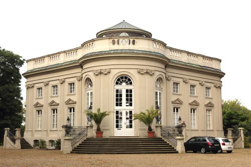 Schloss Richmond von Osten, Foto: Grote