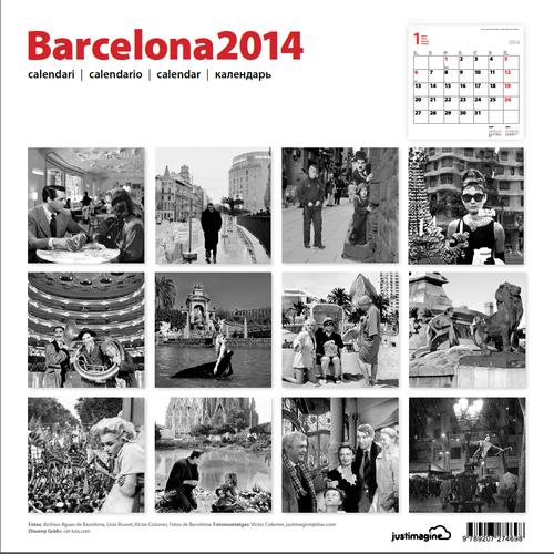 Contraportada Calendari Barcelona 2014