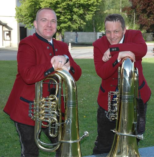 v.l.: Markus Wiesbauer, David Bortenschlager