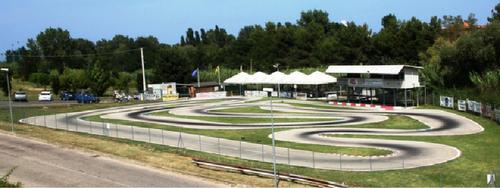WM - Rennstrecke Riccione Italien Entfernung von Graz 676 km