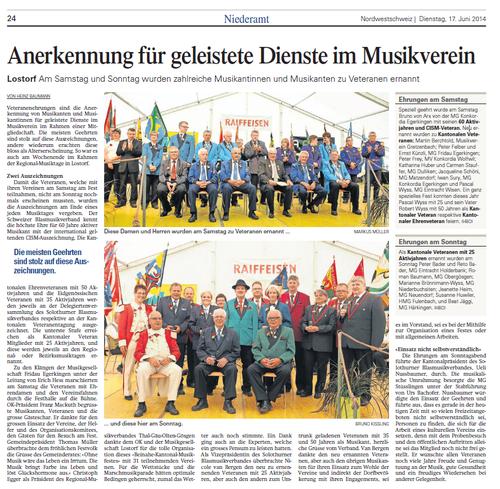 Oltner Tagblatt 17.6.14