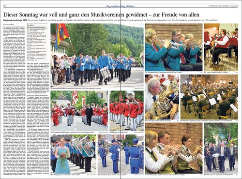 Oltner Tagblatt 10. Juni 2013