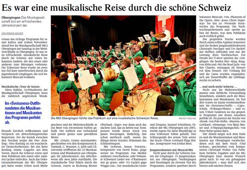 Oltner Tagblatt 22.11.2011