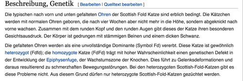Screenshot 09/08/2016, Wikipedia, Schottische Faltohrkatze