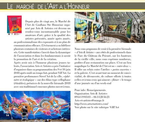 Cyril Simon performance Street art pendant Vill'Art