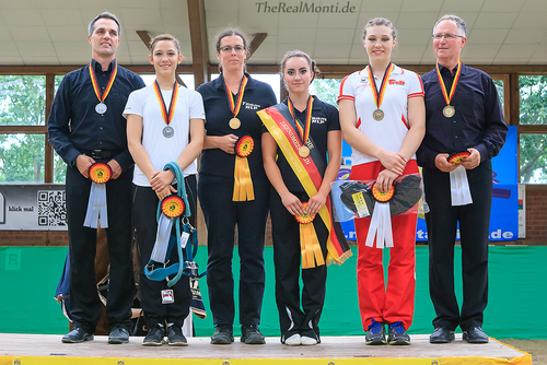 Goldmedaille: Chiara Congia und Alexandra Dietrich/VFZ Mainz-Ebersheim
