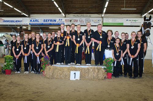 Gold, Silber und Bronze für die Juniorteams aus Rheinland-Pfalz, Ergebnis hervorragender Nachwuchsarbeit im Landesverband / The Real Monti Photography