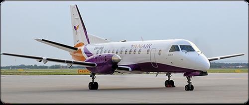 Eine Saab 340B der Yanair/Courtesy: Yanair