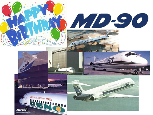 Vor zwanzig Jahren - Jungfernflug der MD-90!/McDonnell Douglas/MD-80.com