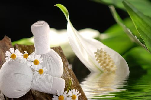 stimmunsvolle Massage