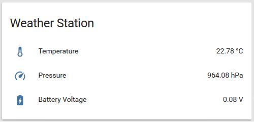 Weatherstation - scentecs Webseite!