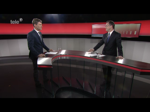 Zu Gast in der Sendung Fokus auf Tele1 (November 2014)