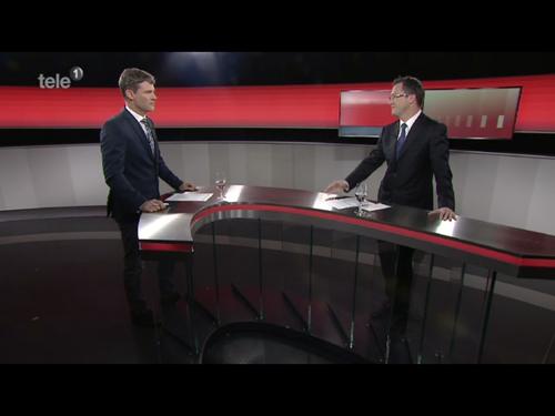 Zu Gast in der Sendung Fokus auf Tele1 (November 2014)