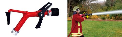 Lanza de AWG con apoyo en el hombro para controlar el retroceso de la lanza