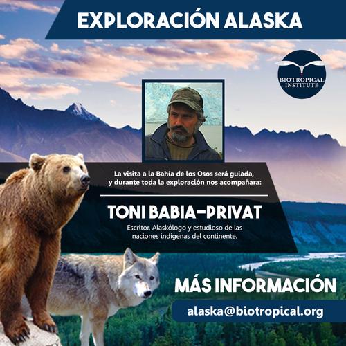 Del 17 al 27 de julio es el tiempo de Alaska.