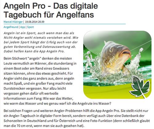 Angeln Pro - Fangbuch und Schonzeiten für Angler