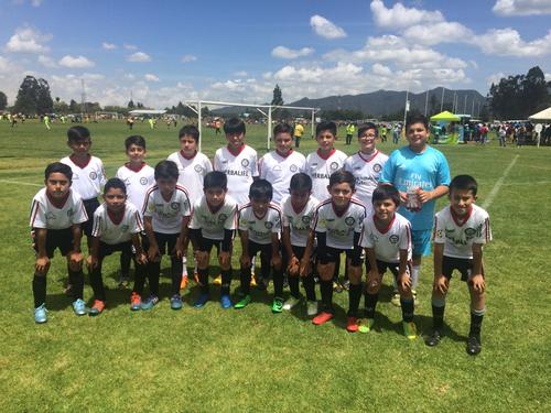 Equipo Pre-infantil de San Pablo en Torneo Maracaná 2017