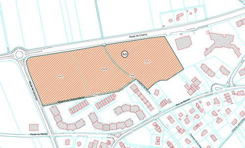Projet de loi modifiant les limites de zones sur le territoire de la commune de Bernex (création d'une zone de développement 3) au lieu-dit « Vailly Sud – Route de Chancy »
