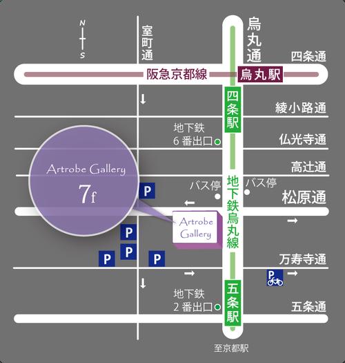 ABスクエアアクセスマップ