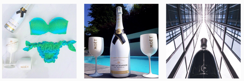 community manager luxe champagne instagram moet et chandon