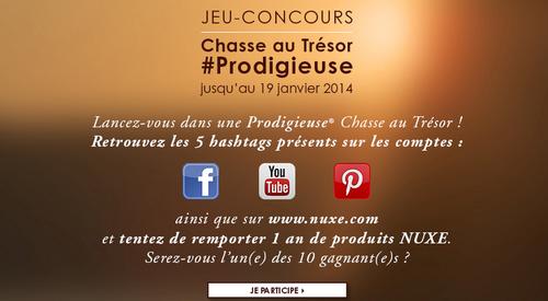 concours Facebook Nuxe