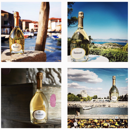 instagram champagne ruinart community manager luxe