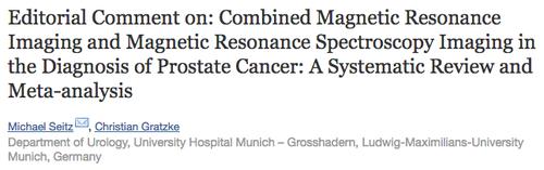 MRT und Prostatabiopsie