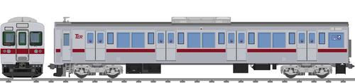 太陽電気鉄道C1200系(ステンレス車)