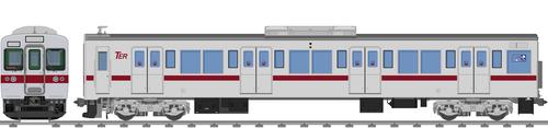 太陽電気鉄道C1200系電車(アルミ車)